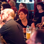 Unbound Audience | An attentive Unbound audience in our Spiegeltent