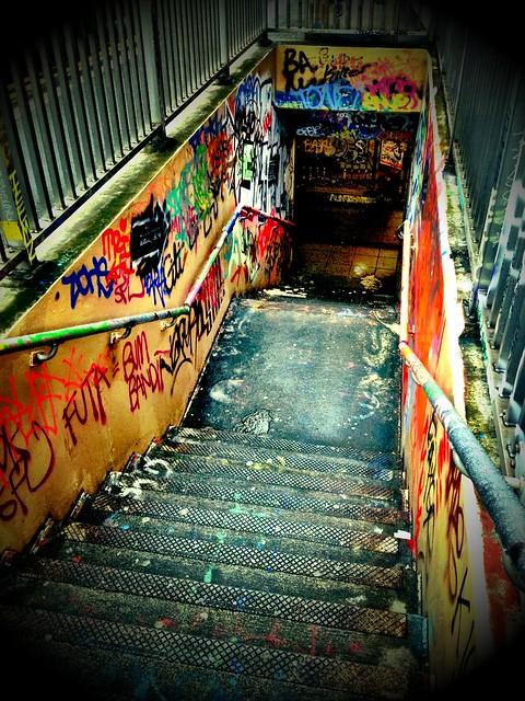 The Steps To Leake Street...