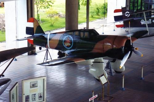 Curtiss Hawk 75N Thai Air Force Museum, Bangkok Thailand