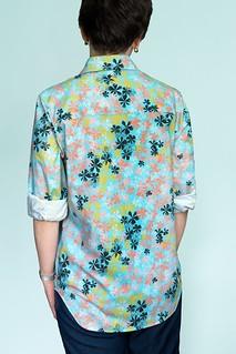 Maxiflora Shirt Back | by ModernPrintCraftLiz