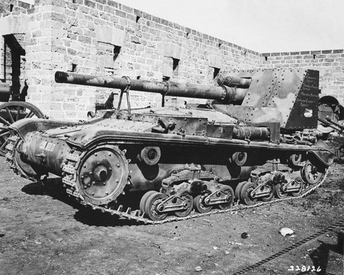 Captured Semovente 90/53