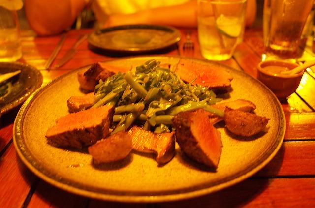 <p>f)steak超美味し</p>