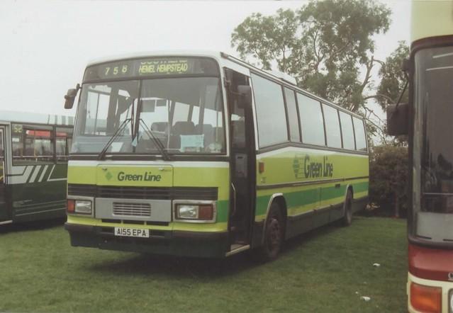 TPL 55, A155 EPA, Leyland Tiger TRCTL11-3R, Plaxton Paramount Body C57F, 1983 (t.1994)