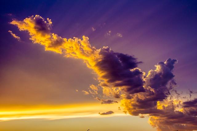 091315 - South Central Nebraska Sunset