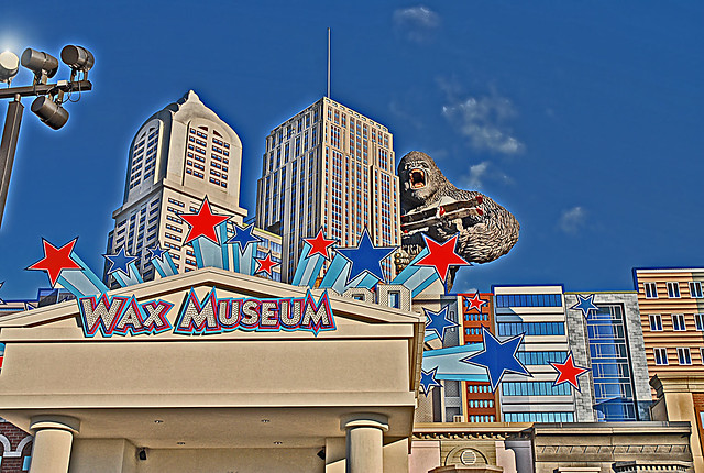 Hollywood Wax Museum - Pigeon Forge, Tennessee - HDR