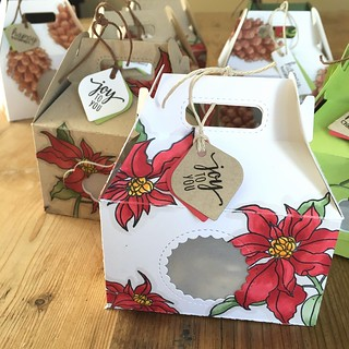 Christmas gift goodie boxes | by Kimberly Toney