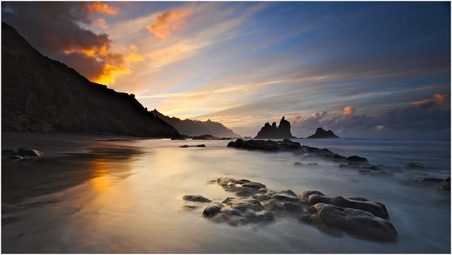 Sunset Playa de Benijo