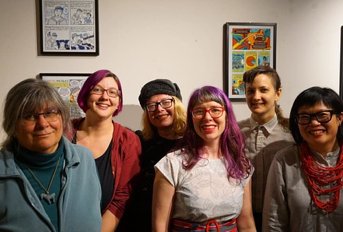 Cartoonists of the SKC Clinic Patient Stories Exhibition