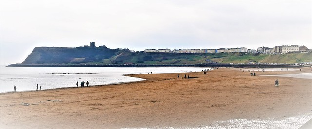 Mist Clearing on Scarborough Sea Front