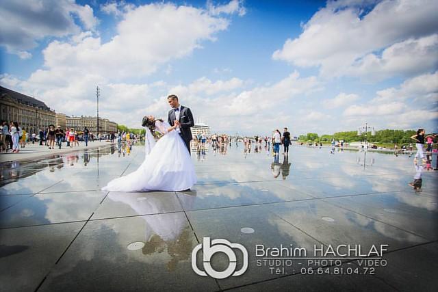 Mariage à  Bordeaux #wedding #weddingday #mariage #clipvideo #photographe #5dmk3 #bordeaux #miroirdeau