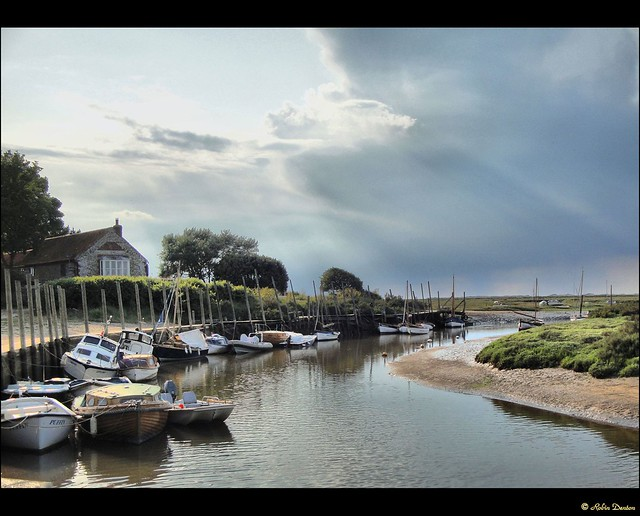 Evening Sunlight, Blakeney, Norfolk