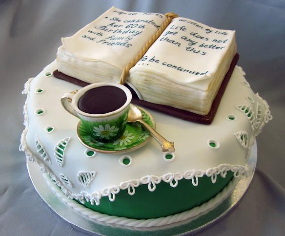 Book Teacup Birthday Cake | Lyudmila Ivanova | Flickr