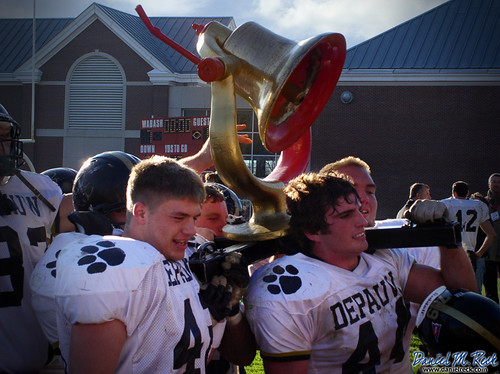 DePauw Tigers Bring Home the Monon Bell | by Daniel M. Reck