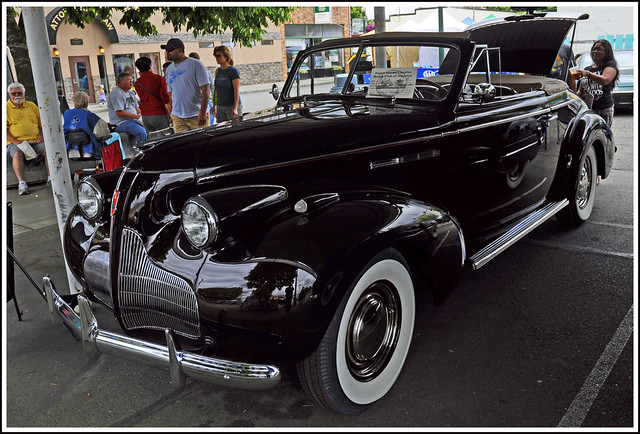 1939 Buick Special Model 46C Convertible