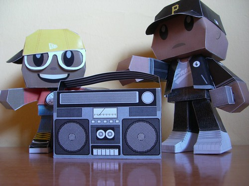 Public Enemy Papercraft
