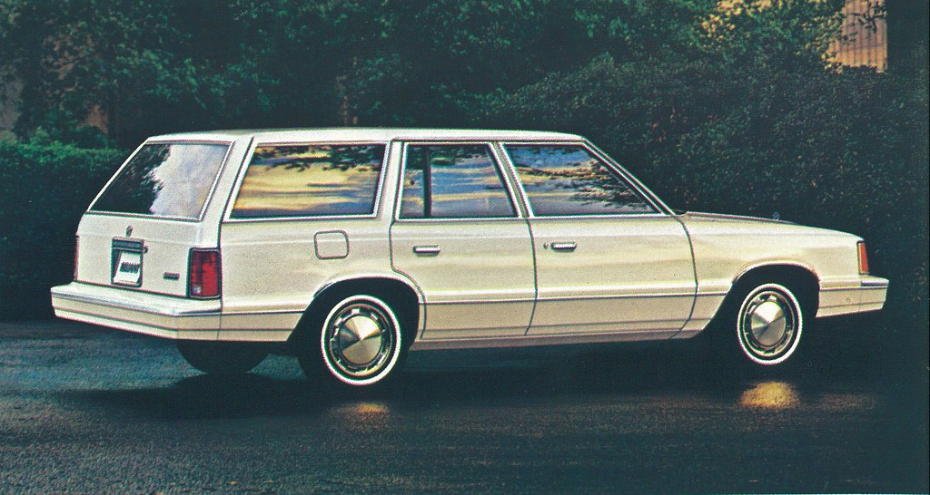 1985 Plymouth Reliant Woodie Wagon 4 | Guy Coulombe | Flickr |Plymouth Reliant White