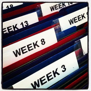 Planning folders. #homeschool   by HappyLittleWonders
