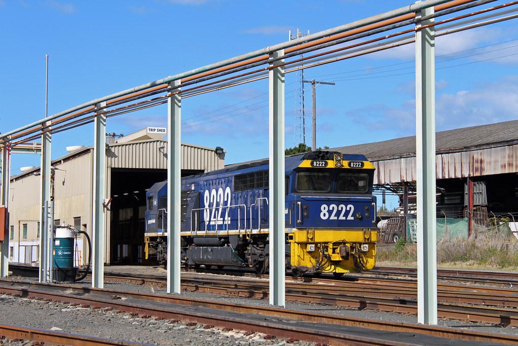 8222 Port Kembla loco by Thomas
