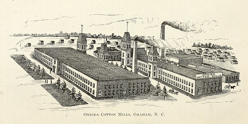 industry northcarolina textile cotton mills graham factories manufacturing alamancecounty ncpedia