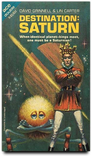 Destination Saturn by David Grinnell & Lin Carter