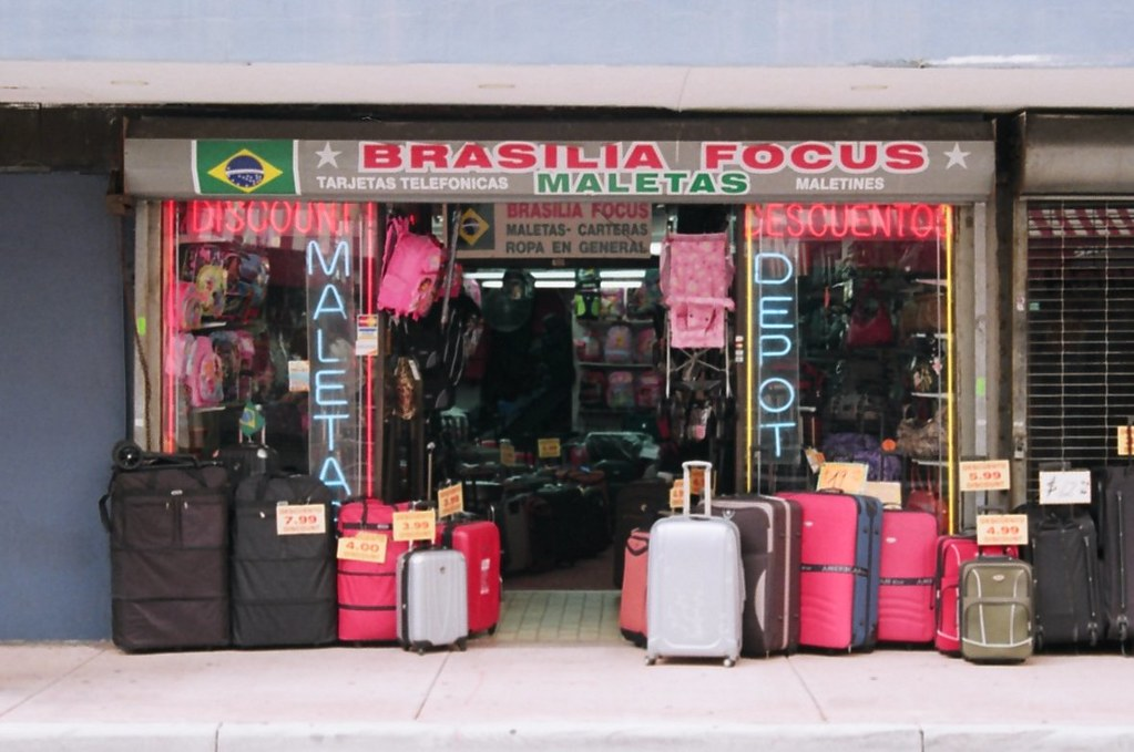 luggage shop downtown miami