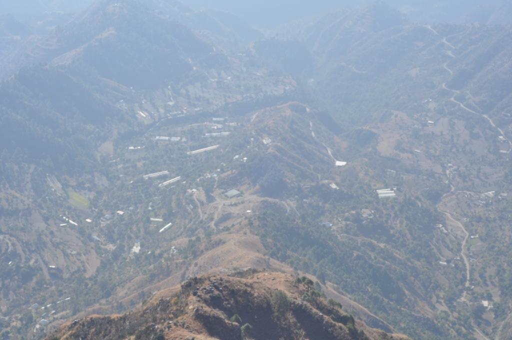 Mountains around Chail