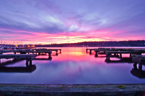 new morning pink water sunrise boats early washington still dock nikon long exposure purple state smooth location calm redmond lakewashington upskirt kenmore 1224mm riser d7000 mygearandme mygearandmepremium tngquickcritique