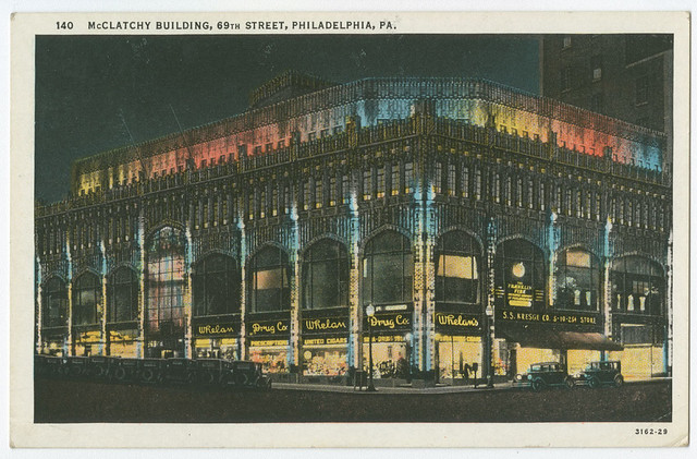 McClatchy Building, 69th Street, ca. 1905.