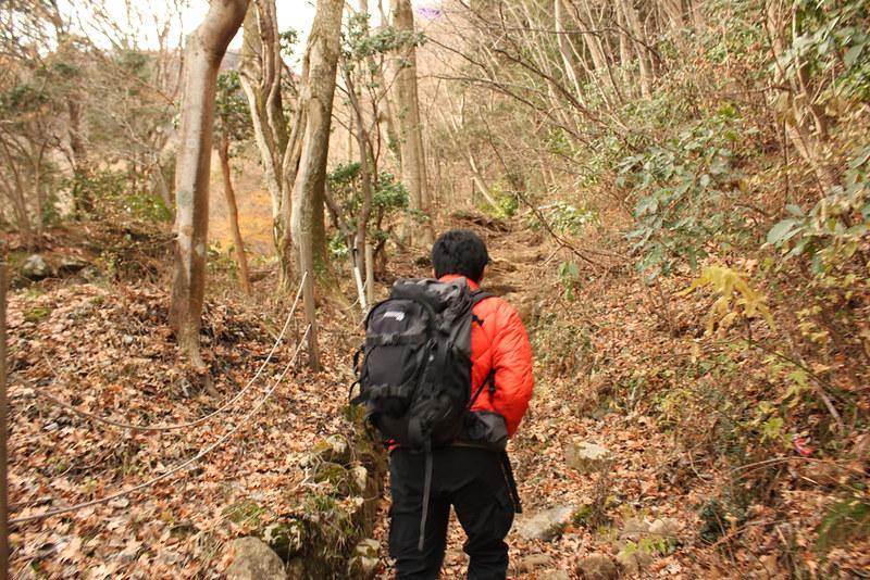 箱根山登山開始
