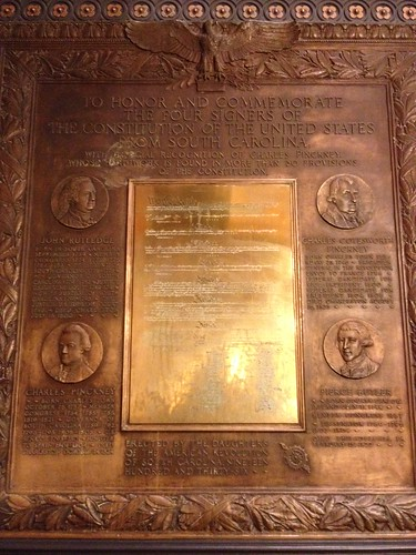 Constitution Signers Plaque   by Marc Tomik