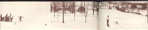 1938 vsa skijump skiclub sunsethill vermontschoolofagriculture randolphcentervermont vermonttech