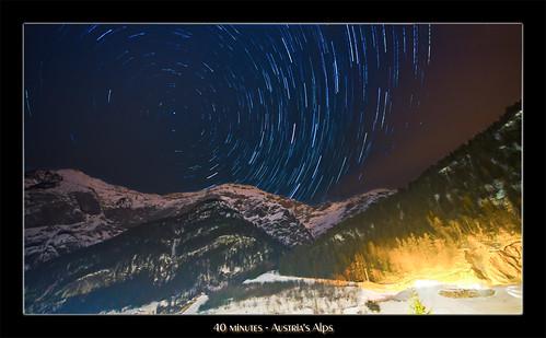 alps star austria österreich nikon tripod trail alpen 2012 langzeitbelichtung saalfelden stativ d7000 stephanpabst