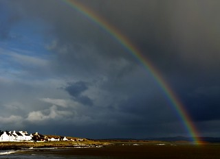 Rainbow over Bruichladdich | by Odd Wellies