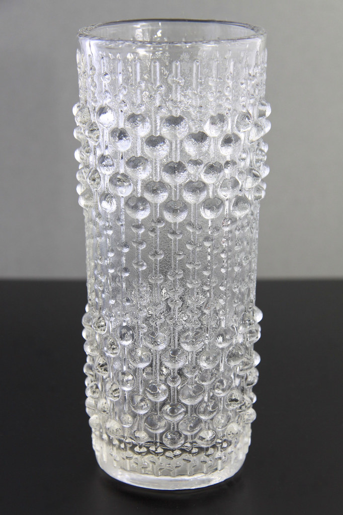 Frantisek Peceny Retro Art Glass Vintage Sklo Union Candle Wax Glass Vase Glass