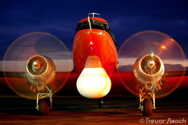 Blue Hour Dakota (DC-3)