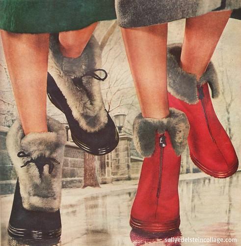 Glamor Winter fashions | by Retroarama