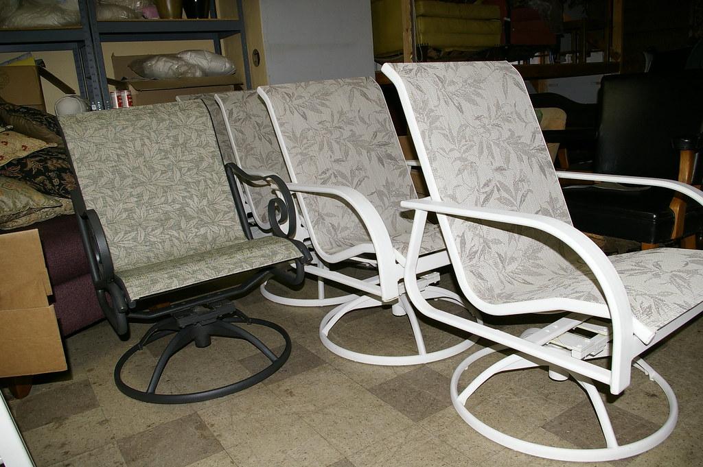 Patio Furniture Sling Replacement.Diy Sling Replacement For Patio Furniture Video