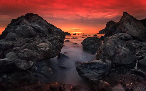 ocean california county sunset wallpaper seascape motion blur beach nature water clouds nikon rocks long exposure pacific earth marin alien shoreline tokina muir 1224mm d90 mattgranz