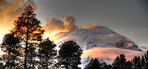 Volcano Popocatepetl 20, México