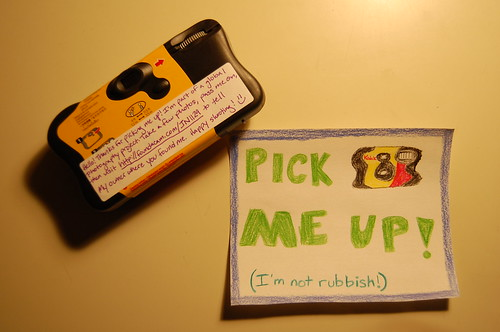 Day 599: Disposable Memory Project