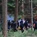 Auseinandersetzungen im Wald am 27.11.2011 in der Göhrde