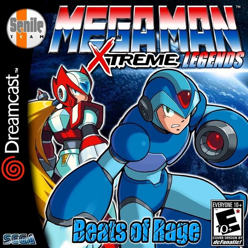 MegaMan Xtreme Legends Openbor Beats Of Rage | Cover Design