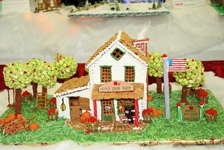 Festival of Trees Christmas - Gingerbread Farm House | by tsayrate