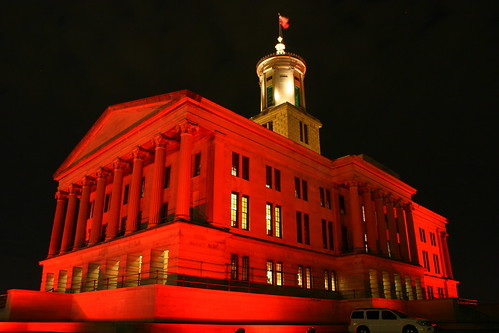 2011 Tennessee State Capitol Christmas at Night