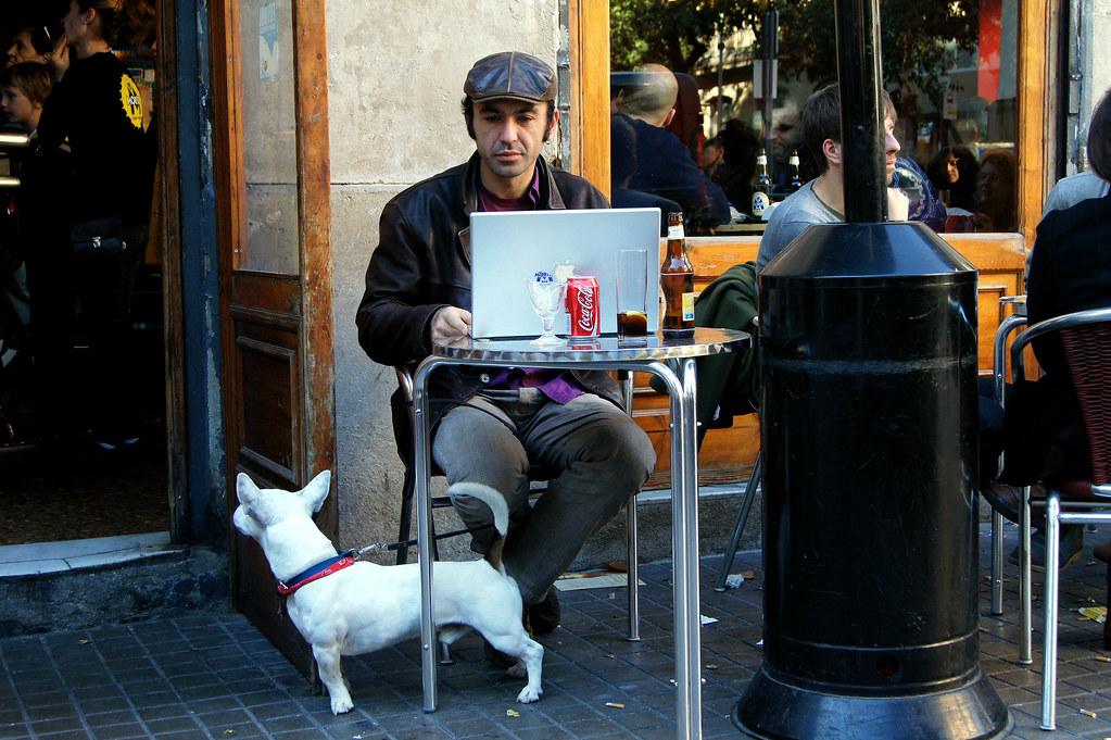 Terraza Del Cafe La Principal Barcelona Marimbajlamesa