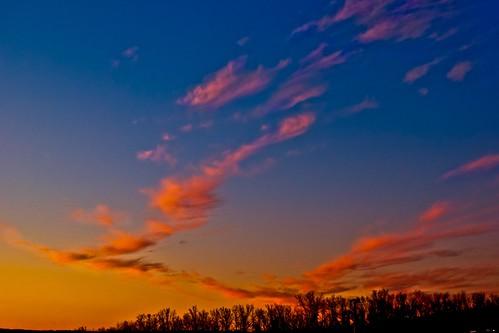 blue sunset sun day missouri branson orage silverdollarcity