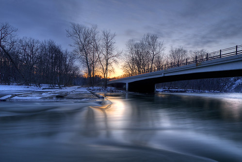 park longexposure winter sunset ohio snow water river cleveland wide olympus getty flowing e3 zuiko hdr rockyriver uwa metroparks zd photomatix zd918mm ctowner
