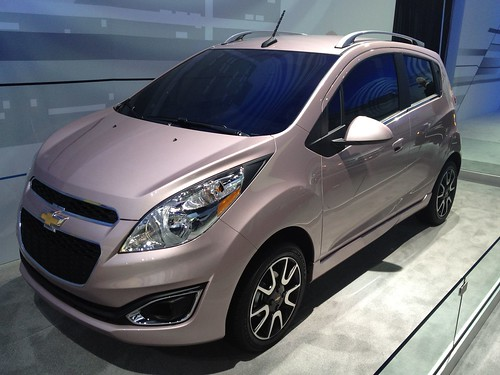 2013 Chevrolet Spark - Live from the 2012 Detroit Auto Show -  Jan 10, 1:15:13 PM Photo