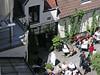 Výhled ze střechy pivovaru De Halve Maan na pivovarskou restauraci, foto: Petr Nejedlý