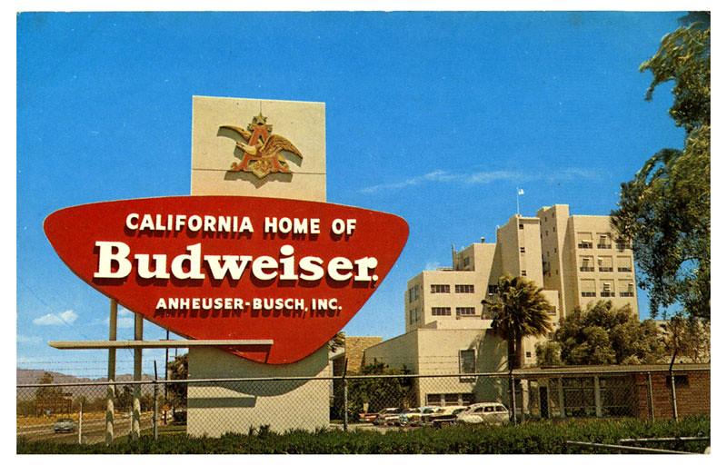 California Home of Budweiser